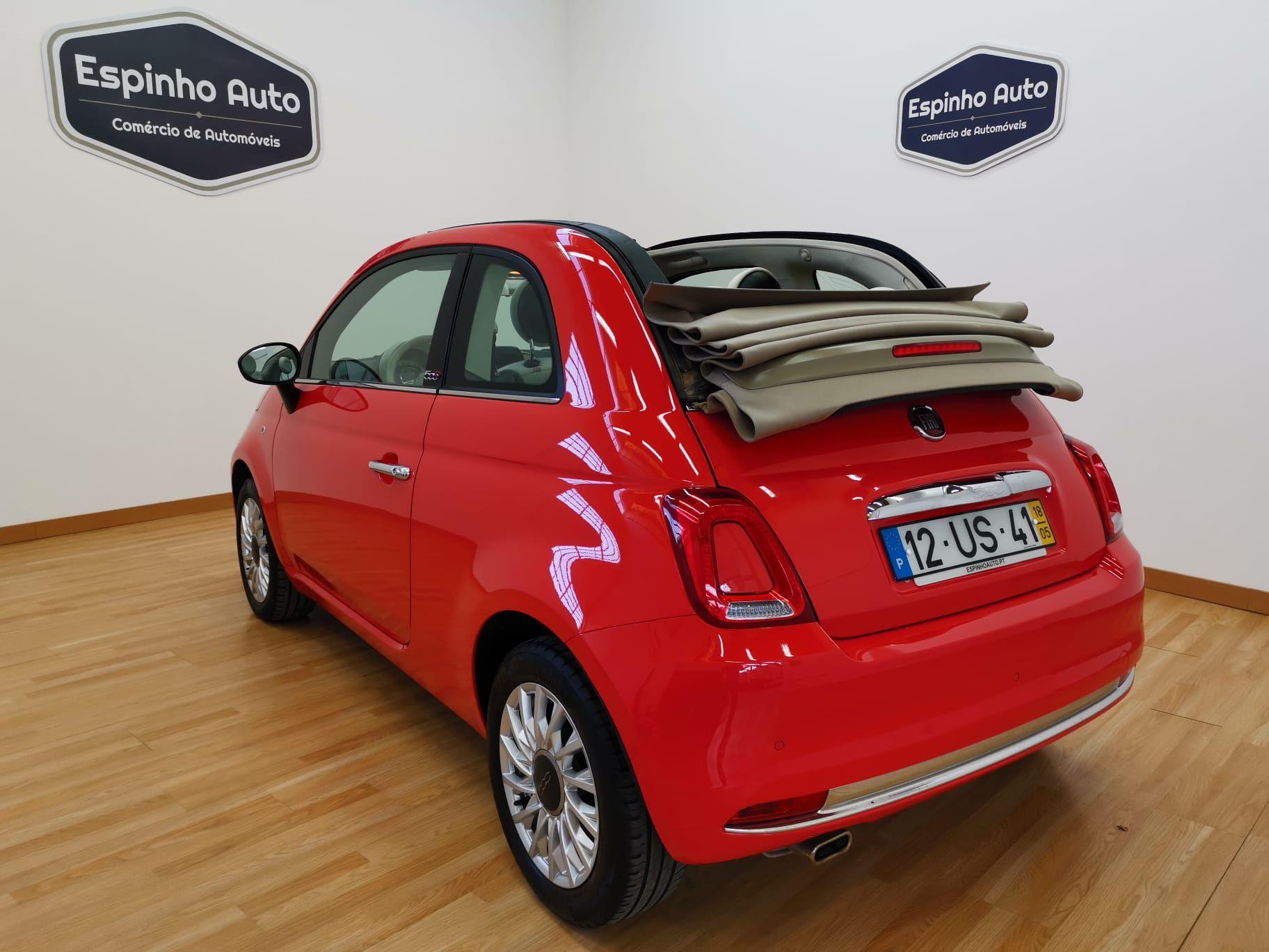 Fiat 500c 1 2 Lounge Usado Para Venda Em Espinho